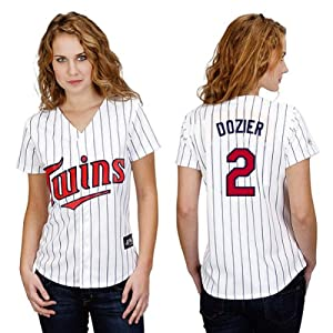Brian Dozier Minnesota Twins Home Ladies Replica Jersey by Majestic by Majestic