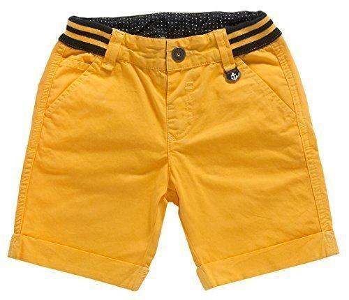 CHICCO - Ragazzo Bambino Pantaloncini - sportivo pantaloni corti con tasche giallo - cotone, giallo, 100% cotone 100% cotone\npflegehinweise, Bimbo, 116