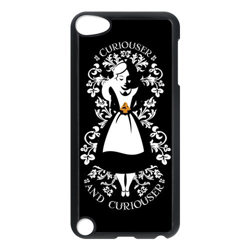 Generic Black Lovely Girl Holding a Strawberry Design Hard Plastic Case for Ipod Touch 5 5g(5th Generation) image