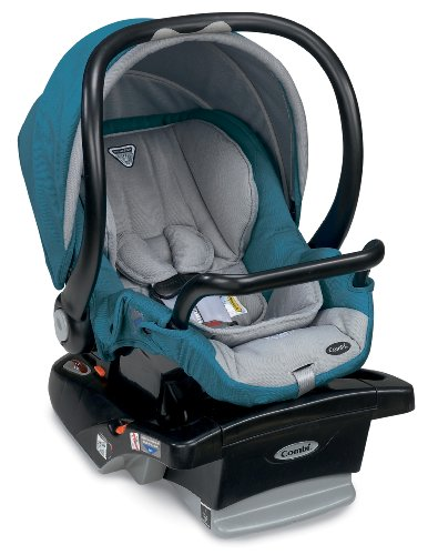 Combi Shuttle Car Seat, Teal front-266481