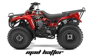 AMR Racing Kawasaki Bayou 250, Bayou 220, Bayou 300 ATV Quad, Graphic Kit - M...