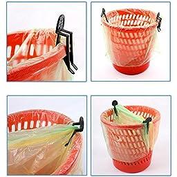 Saver 10pcs Garbage Can Waste Bin Trash Can Bag Clip Holder
