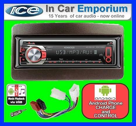 Toyota Camry de lecteur CD et stéréo de voiture Kenwood KDC 317ur kit radio/Auxiliaire/USB/Android
