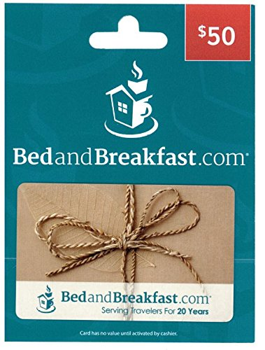 BedandBreakfast.com $50 Gift Card | Bed Accessories