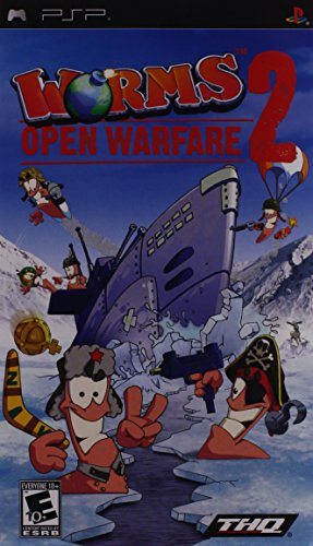 Worms 2 Open Warfare - Sony PSP - 1