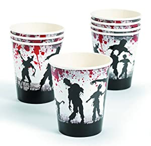 Zombie Party Paper Cups (8 Count) from FE