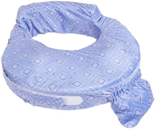 Zenoff Products My Brest Friend Nursing Pillow, Periwinkle (Discontinued by Manufacturer)