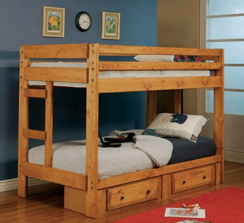 Twin over twin bunk bed coaster 460243 best deals toys Best deal on twin mattress