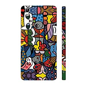 Enthopia Designer Hardshell Case The Chinese Abstract Back Cover for Vivo Y51L