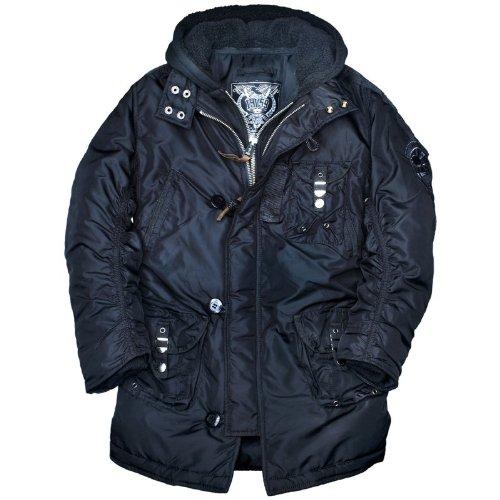 Alpha Industries Cobbs II, halblange Winterjacke mit Kapuze online kaufen