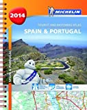Spain & Portugal 2014  - A4 spiral atlas (Michelin Tourist and Motoring Atlas)
