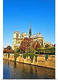 Poster Print entitled Notre Dame cathedral, Paris, France
