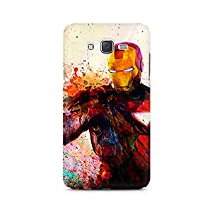 Mobicture Iron Man Premium Printed Case For Samsung J2