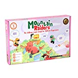 MOUNTAIN RAIDERS Awesome Math Addition Learning Board Game For Kids