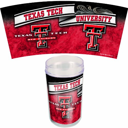 NCAA Texas Tech Red Raiders 16-Ounce 4-Pack Tumblers