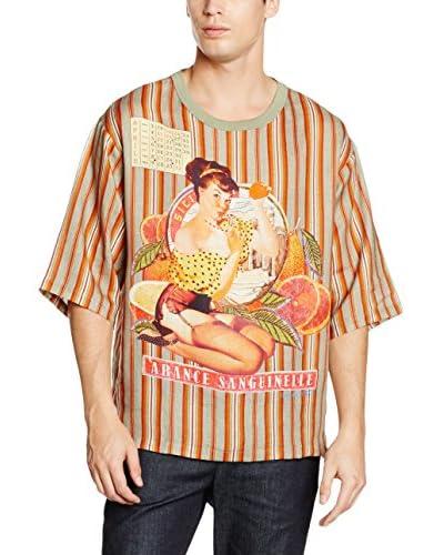 Dolce & Gabbana Camiseta Manga Corta Naranja