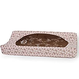 CoCaLo Daniella Changing Pad Cover, Pink