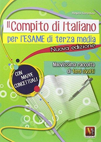 Il compito d'italiano per l'esame di terza media PDF
