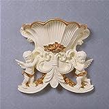 Continental arazzi resina angelo decorativo decorazioni parete del soggiorno sfondo parete ornamenti creativi