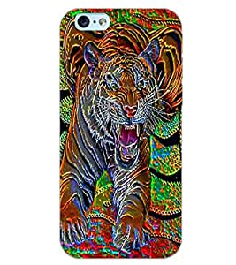 APPLE IPHONE 6 TIGER Back Cover by PRINTSWAG