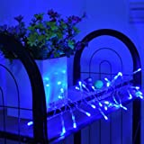 New Blue 3M 30 LED String Light Battery Operated for XMAS Christmas Wedding Outdoor Party