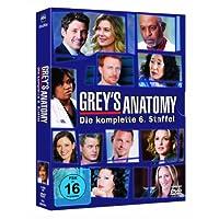 Grey's Anatomy: Die jungen �rzte - Die komplette 6. Staffel [6 DVDs]