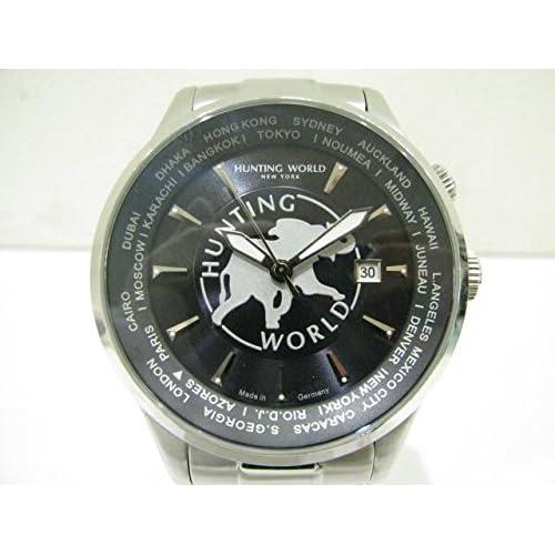 [ハンティングワールド] HUNTING WORLD ハンティングワールド 時計 ステンレススチール(SS) HW201 [中古]