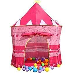 Imported Indoor Outdoor Playhouse Children Girl Pink Pop-up Princess Tent Castle