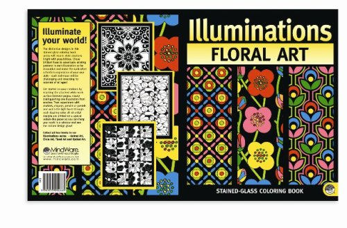 ILLUMINATIONS FLORAL ART COLORING BOOK by Mind Ware