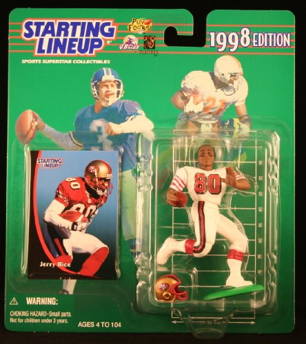 Jerry Rice 1998 Starting Lineup