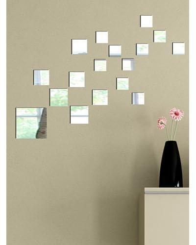 Deco Range Stickers & Co. Spiegelwand sticker