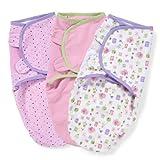 Summer Infant SwaddleMe Adjustable Infant Wrap, 3-Pack, Who Loves You