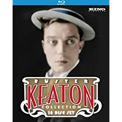 The Ultimate Buster Keaton Collection [15-Disc Blu-ray Box Set]