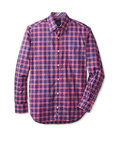 TailorByrd Men's Pollard Check Long Sleeve Shirt