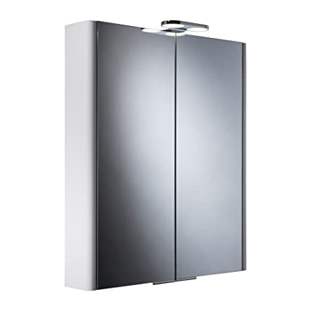 Roper Rhodes Entity Bathroom Cabinet Double Doors & LED Light DN60WL