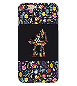 PrintDhaba Cartoon D-3161 Back Case Cover for APPLE IPHONE 6 (Multi-Coloured)