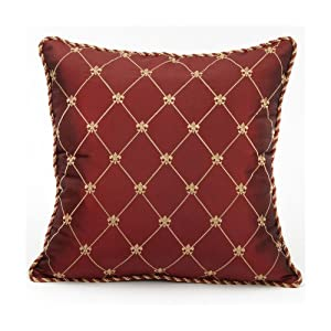 Croscill Home Premier 20-Inch by 14-Inch Oblong Boudoir Pillow, Gold