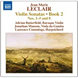 Leclair: Violin Sonatas, Book 2 - Nos. 1-5 and 8