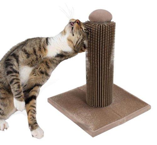SmartyKat Brush Up Cat Grooming Post ntnt free post new bristle brush flexible beater brush for irobot roomba 500 series green