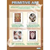 Primitive Art Art Educational Wall ChartPoster in laminated paper A1 850mm x 594mm
