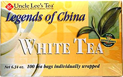 Uncle Lee'S Tea Legends Of China White Tea, 100 Count Tea Bags (Pack Of 24)