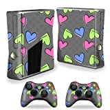 Mightyskins Protective Vinyl Skin Decal Cover For Microsoft Xbox 360 S Slim + 2 Controller Skins Wrap Sticker... - B00CXPHEFO