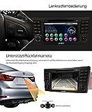 PUMPKIN-7-Zoll-2-Din-Windows-CE-Autoradio-Moniceiver-mit-800MHz-DVD-Multimedia-Player-Spieler-LCD-HD-Touchscreen-fr-Mercedes-Benz-E-Klasse-W211-2002-2009-W219-2004-2011-Untersttzt-GPS-NavigationBlueto