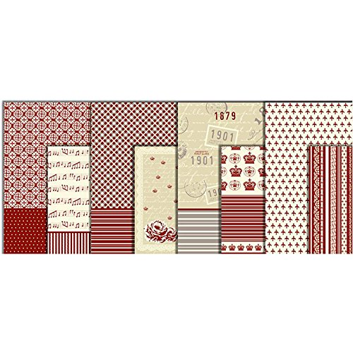 vivi-gade-25-x-35-cm-copenhagen-design-assorted-decoupage-paper-pack-of-8