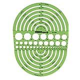 Alvin Circle Radius Master Template (TD1202)