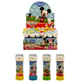 36 x Mickey Mouse Clubhouse - Puzzles Maze Tubs Of Bubbles 60ml - Wholesale Box