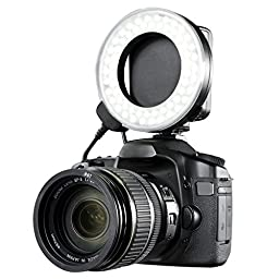 Canon EOS 70D Dual Macro LED Ring Light / Flash (Applicable For All Canon Lenses)