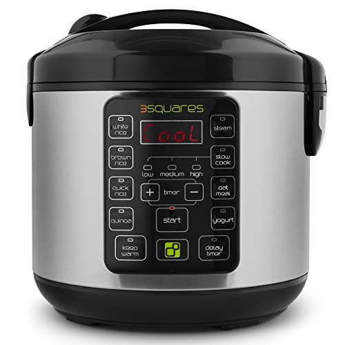 Review Of 3 Squares 3RC-3010S TIM3 MACHIN3 20-Cup (Cooked) Rice Cooker and Multi Cooker, 4-Quart Cap...