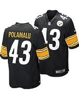 Troy Polamalu Pittsburgh Steelers Black NFL Toddle Nike Replica Home Jersey