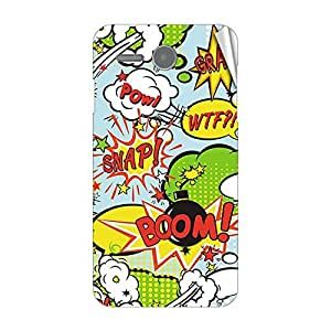 Garmor Designer Mobile Skin Sticker For Lenovo S810T - Mobile Sticker